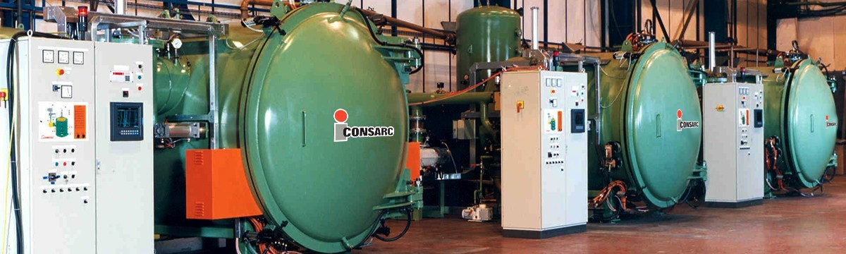 Consarc Horizontal Vacuum Heat Treatment Furnace